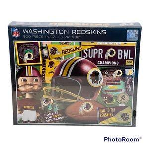 "🆕 NFL Washington Redskins 500 Piece Puzzle 24""x18"""